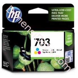 Jual Tinta / Cartridge HP Tri-Color Ink  703 [CD888AA]
